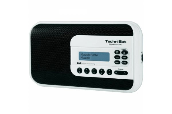 TECHNISAT DIGITRADIO 200 DAB+ RADIO WIT