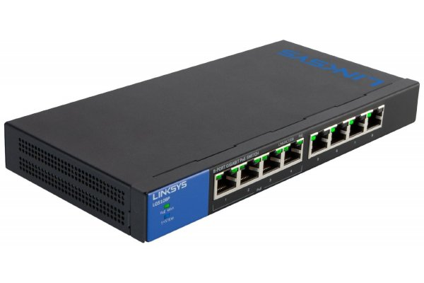 LINKSYS LGS116P-EU GIGABIT PoE -SWITCH MET 16 POORTEN