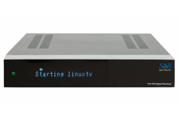 SAB ALPHA TRIPLE S-2/T/C HD met PVR functie (HDD opt.)