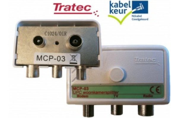 TECHNETIX MCP-03 RADIO TV DATA VERDELER